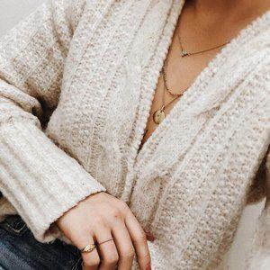 NWT Aritzia Le Fou Wilfred Moreau Sweater - Birch